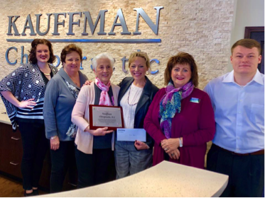 Gold Community Award: Kauffman Chiropractic